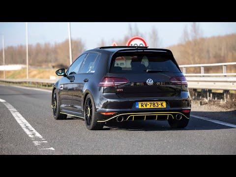 Volkswagen Golf 7 GTI Clubsport with Custom Exhaust - LOUD Accelerations & Revs