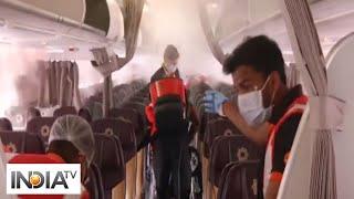 Vistara flight sanitized at Bhubaneswar airport - INDIATV