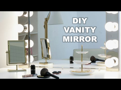 Upgrade Your Vanity Mirror