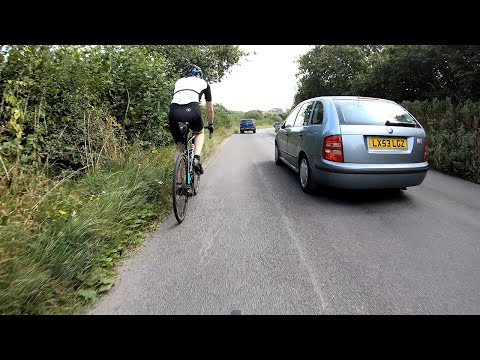 Click to view video Near Miss of the day on a ride around the Isle of Purbeck