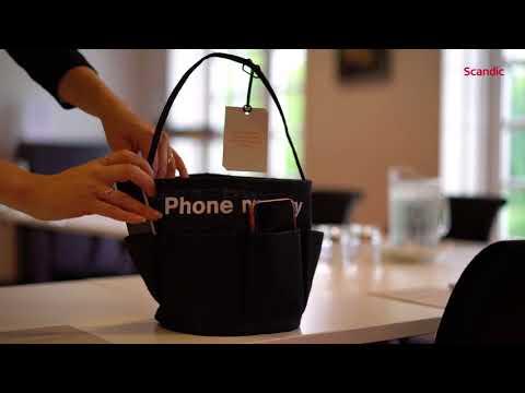Phone Nursery | Parker din telefon inden mødet begynder | For better meetings