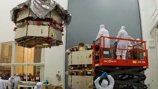 NASA | 3 Days in 1 Minute: Stacking the MMS Spacecraft
