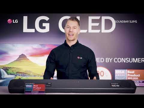 LG Soundbar SL8YG - Dimensionellt och uppslukande ljud