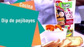 Receta de Secretos de Cocina de Unilever: Dip de Pejibayes