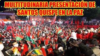 SANTOS QUISPE MENCIONÓ QUE EL MAS-IPSP. TIENE QUE DES4PARECER DE BOLIVIA..