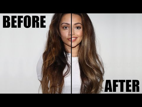 HOW TO GET RID OF BRASSY HAIR AT HOME + FAKE A BLOWDRY | KAUSHAL BEAUTY AD