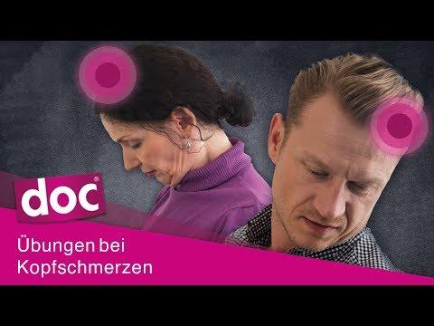 Kopfschmerzen im Büro? 3 Übungen gegen den Schmerz | doc Alltagsexperten