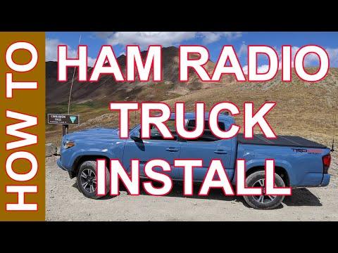 Ham Radio Mobile Install - Toyota Tacoma Ham Radio Install