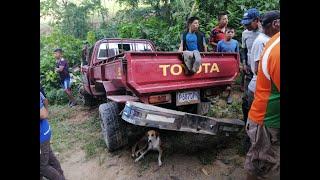 Fatal accidente de tránsito en Tucurú