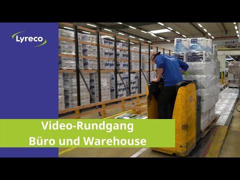 Video-Rundgang durch unsere Büros und unser Warehouse in Bantorf / Barsinghausen