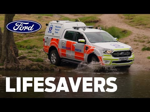 Lifesavers: Ford Ranger UK Mountain Rescue