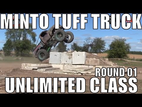 UNLIMITED CLASS ROUND 1 AT MINTO TUFF TRUCK CHALLENGE 2018