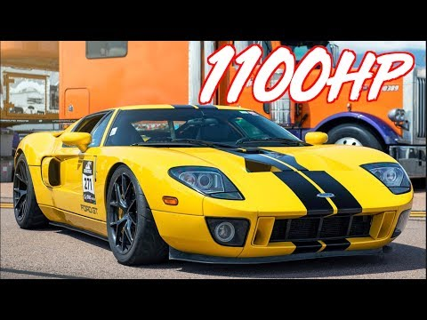 1100HP Ford GT Twin Turbo Ride Along - The Greatest Ford Ever Produced""