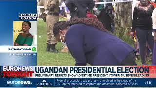 Ugandan presidential election: Preliminary results show longtime president Yoweri Museveni leading