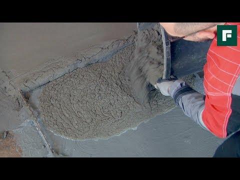 Устройство напольной стяжки методом «мокрый по мокрому» // FORUMHOUSE