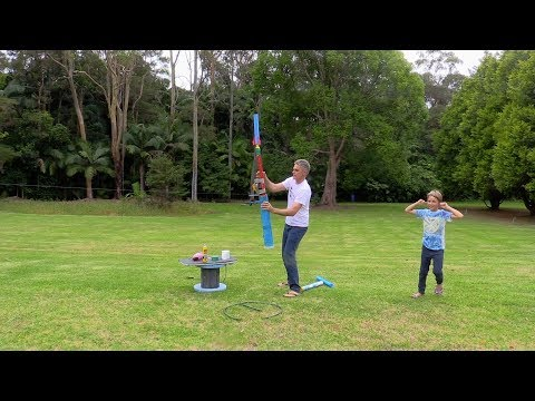 How to make a Pump Rocket Hybrid Cannon | Make Science Fun