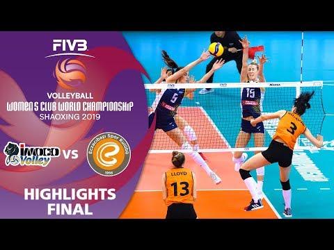FINAL: Imoco vs. Eczacibaşi - Highlights | Women's Volleyball Club World Champs 2019