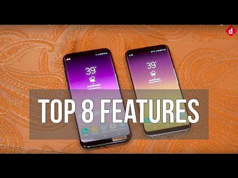 Top 8 Features of Samsung Galaxy S8 & S8+ | Digit.in