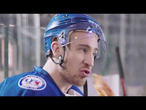 Slicing with The New York Rangers' Kevin Hayes