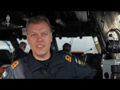 Halvtid för fartygen i Trident Juncture 18