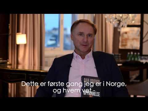 Dan Brown - kommer Robert Langdon til Norge?