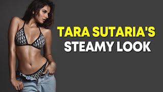 Tara Sutaria flaunts toned body in bikini - BOLLYWOODCOUNTRY