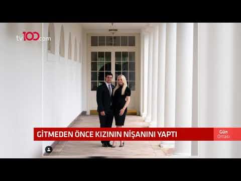 Donald Trump, Beyaz Saray'dan ayrılmadan önce kızının nişanını yaptı