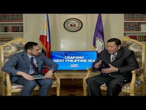 Usapang West Philippine Sea kasama si Supreme Court Associate Justice Antonio Carpio