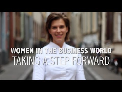 Women in the Business World: Taking a Step Forward
