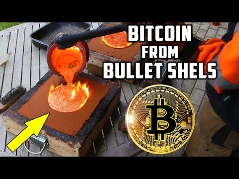 connectYoutube - Casting Brass Bitcoin from Bullet Shells