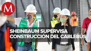 Li?nea 1 de Cablebu?s avanza 75% en construccio?n; preve?n inauguracio?n en diciembre