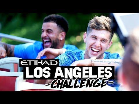 STERLING & GUNDOGAN VS WALKER & STONES! | Hollywood Challenge
