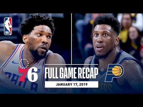 Full Game Recap: 76ers vs Pacers | Embiid & Butler Stuff The Stat Sheet