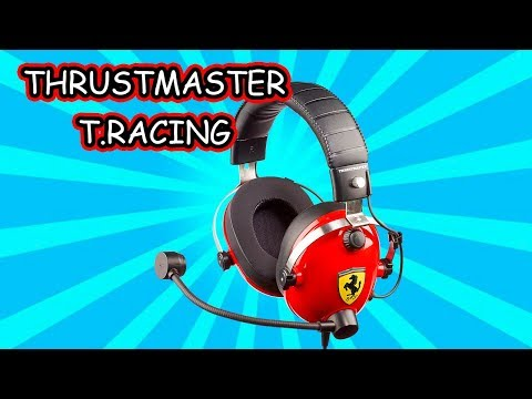 THRUSTMASTER T.RACING FERRARI EDITION UNBOXING Y REVIEW