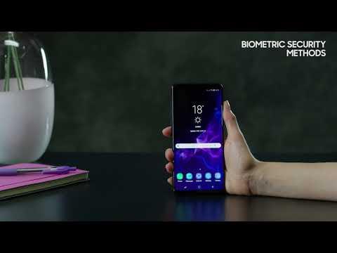 4. Sådan bruger du biometriske sikkerhedsindstillinger på din Samsung Galaxy