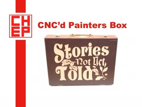 CNC a Painters Box using Easel and X-Carve CNC