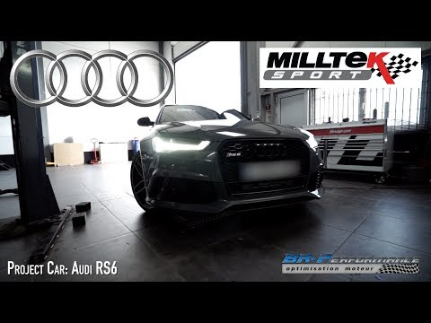 Audi RS6 Exhaust Milltek By BR-Performance