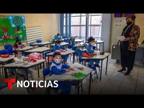 Padres mexicanos le temen al regreso a clases presenciales | Noticias Telemundo