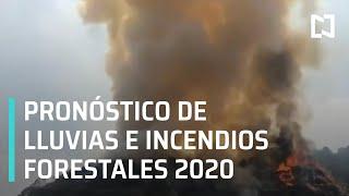 Temporada de ciclones tropicales 2020 | Incendios forestales México 2020 - Las Noticias