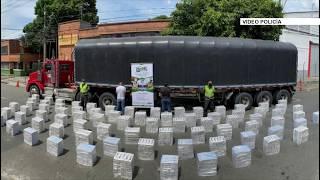 Autoridades incautaron más de 40 mil cajetillas de cigarrillo en Itagüí - Telemedellín