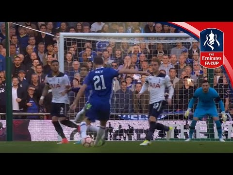 Matic's stunning strike against Spurs - Emirates FA Cup 2016/17 | Official Highlights