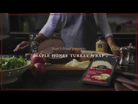 Boar's Head Maple Honey Turkey Wrap