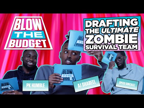 jdsports.co.uk & JD Sports Promo Code video: DRAFTING THE ULTIMATE ZOMBIE SURVIVAL TEAM WITH AJ SHABEEL, PK HUMBLE & SPECS   BLOW THE BUDGET