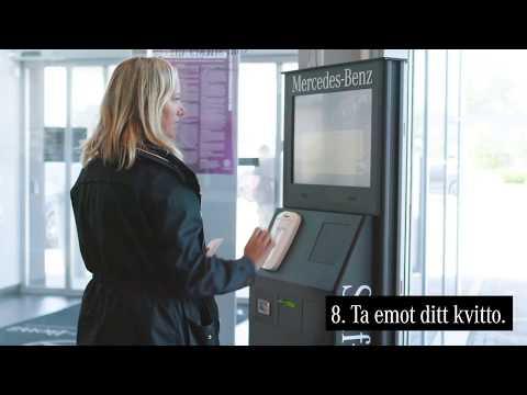 Mercedes-Benz självservice-stationer.