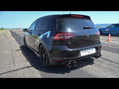 Volkswagen Golf 7 R HPT Stage 2+ with Akrapovic Exhaust System!