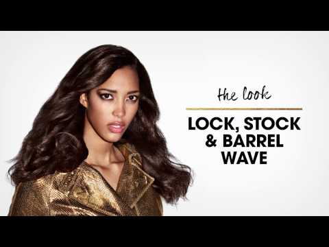 hair tutorial | lock, stock & barrel wave | party hairstyles