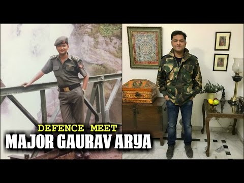 Who Is Major Gaurav Arya? An Exclusive Interview By INDRA Networks