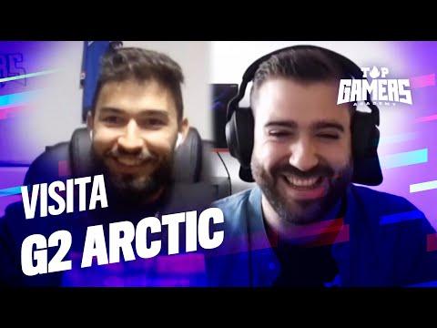 VISITA de G2 ARCTIC | TOP GAMERS ACADEMY