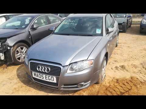 Audi A4 2005 m dalys