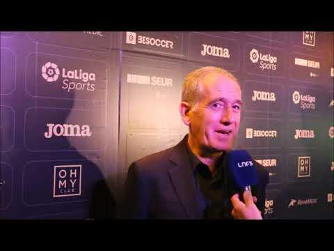 #GalaLNFS30 | Andreu Plaza: Sin mi cuerpo técnico no hubiera sido posible